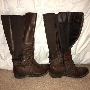 Brown Rider Boots